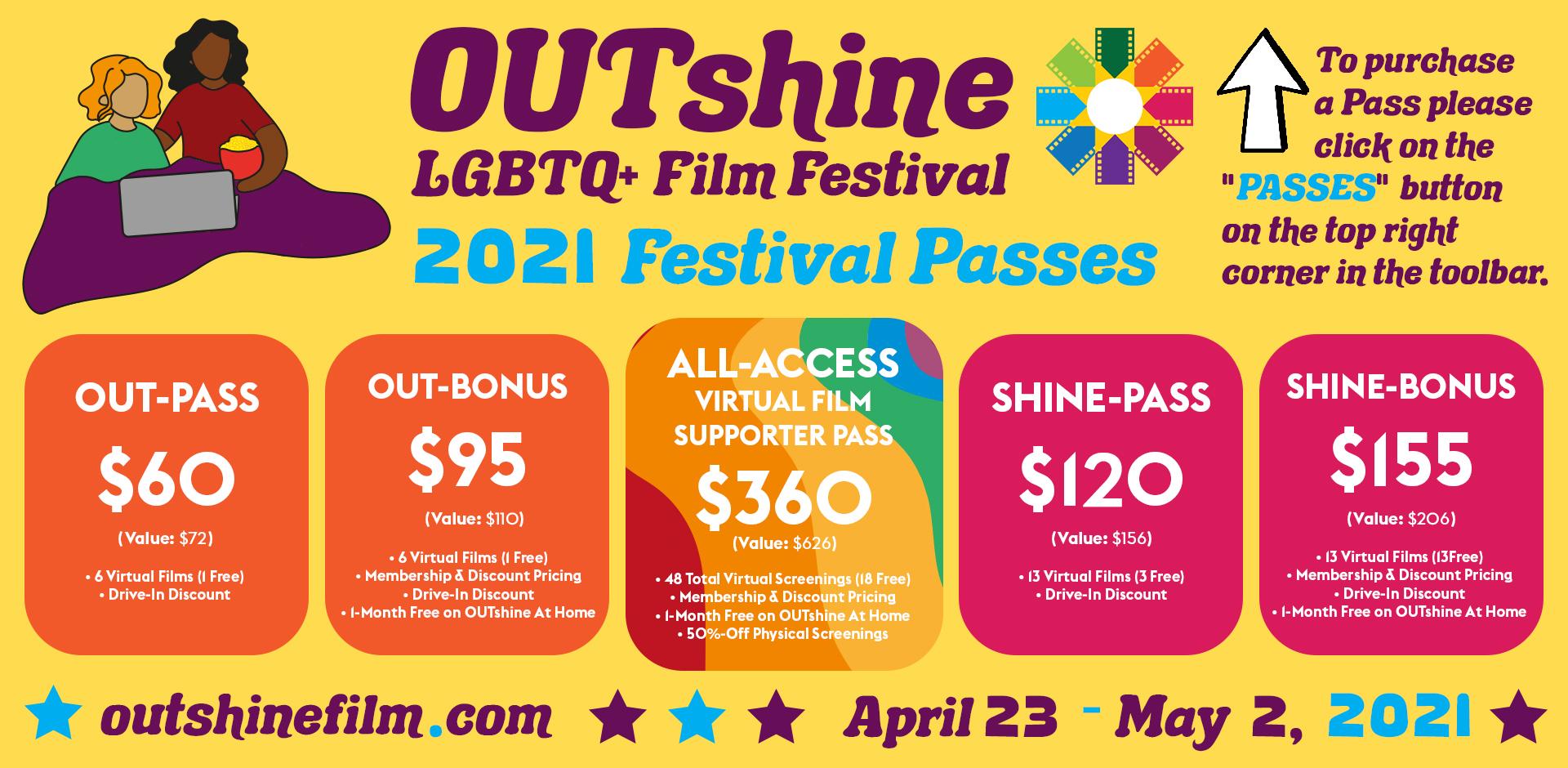 23rd Annual Miami Edition of the OUTshine LGBTQ+ Film Festival