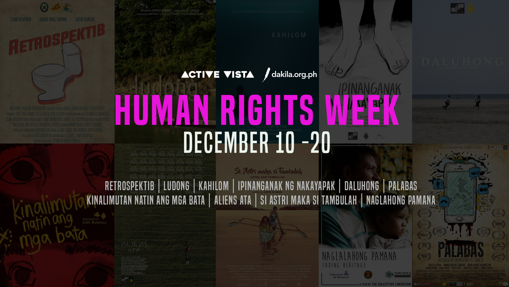 Active Vista International Human Rights Festival