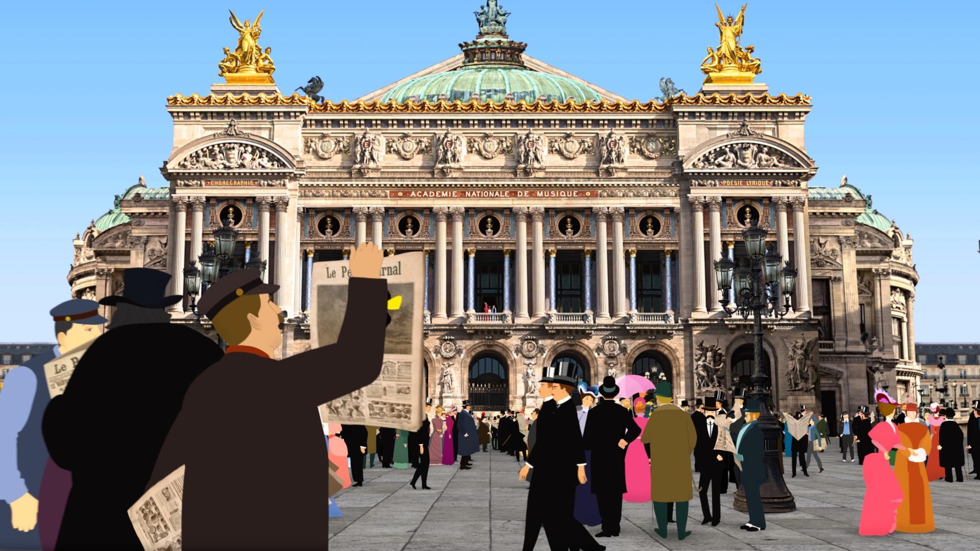 """Cinéma: """"Dilili à Paris"""", quand l'animation rencontre la photo"""