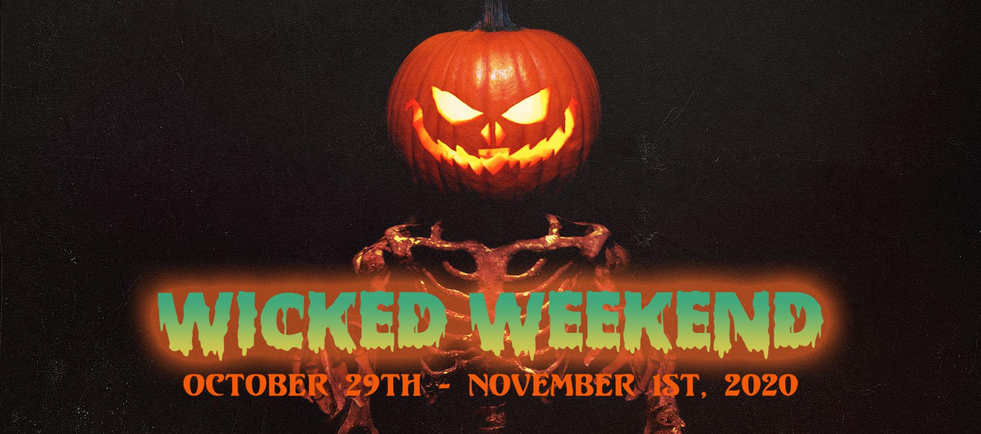 Popcorn Frights Wicked Weekend