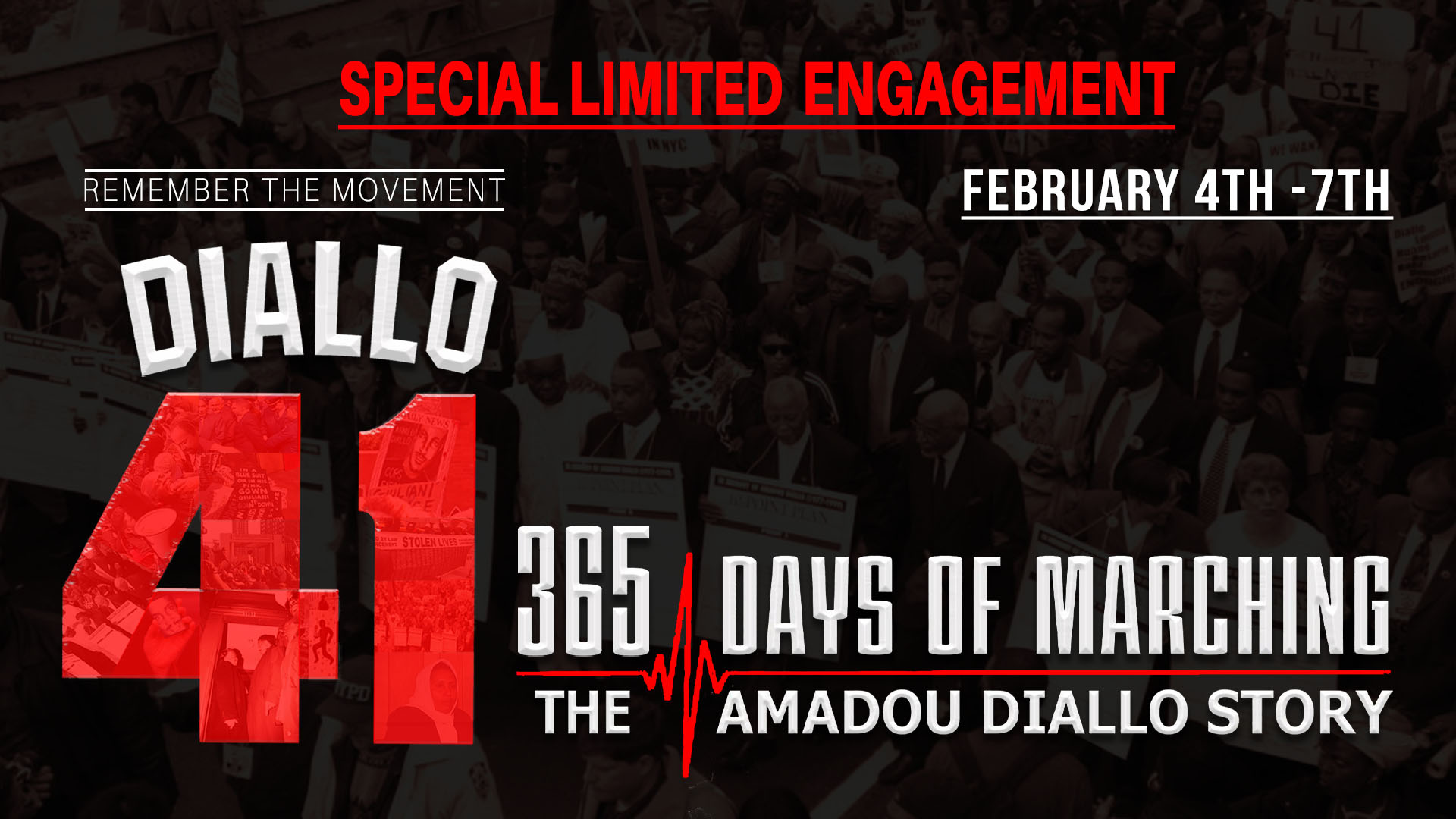 365 DAYS OF MARCHING - THE AMADOU DIALLO STORY