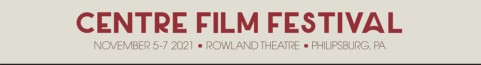 Centre Film Festival 2021
