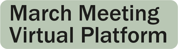 March Meeting 2021
