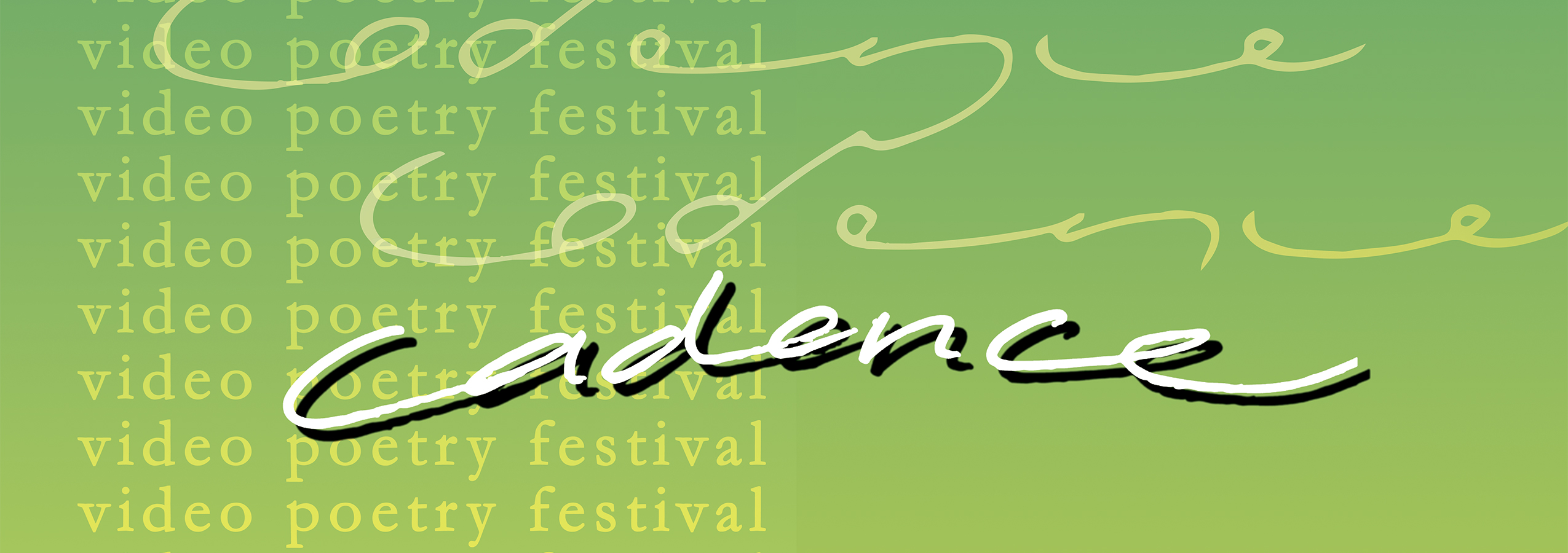 Cadence: Video Poetry Festival 2021