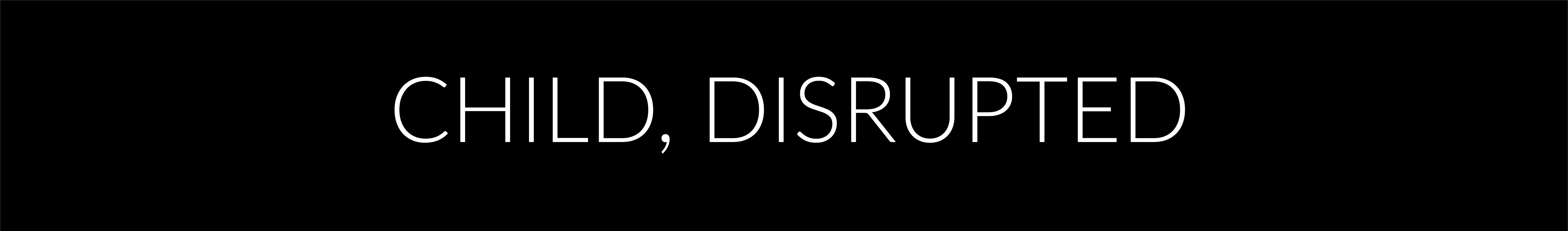 Virtual Screening of Child, Disrupted