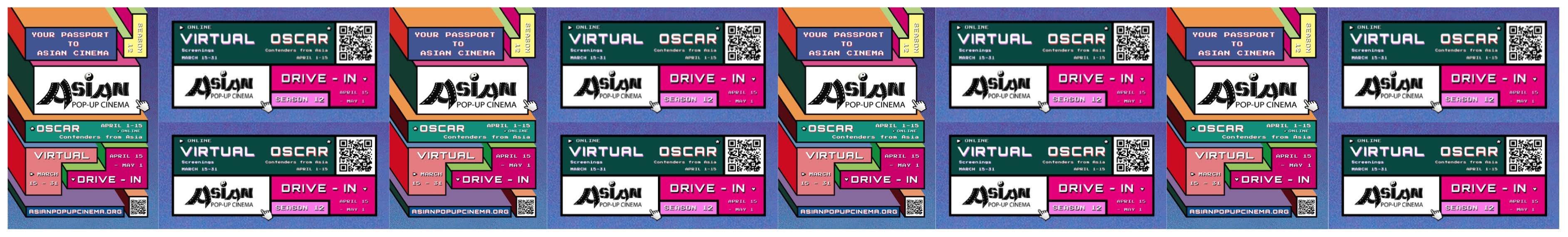 Asian Pop-Up Cinema Season 12
