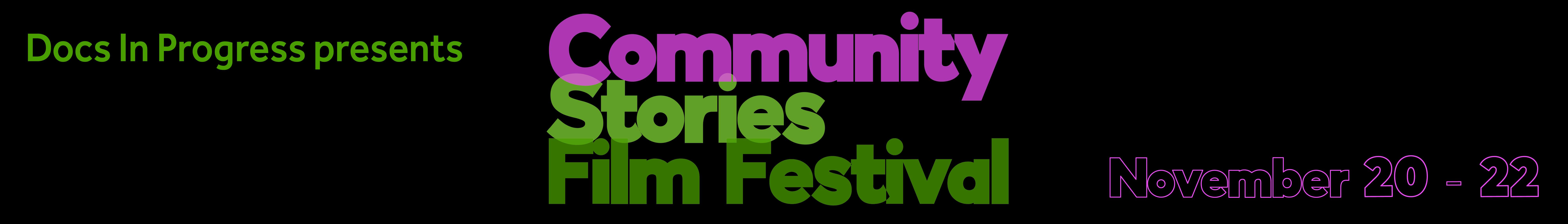 TEST Community Stories